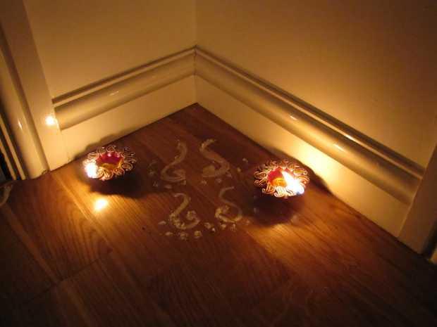 Diwali Laxmi Feet