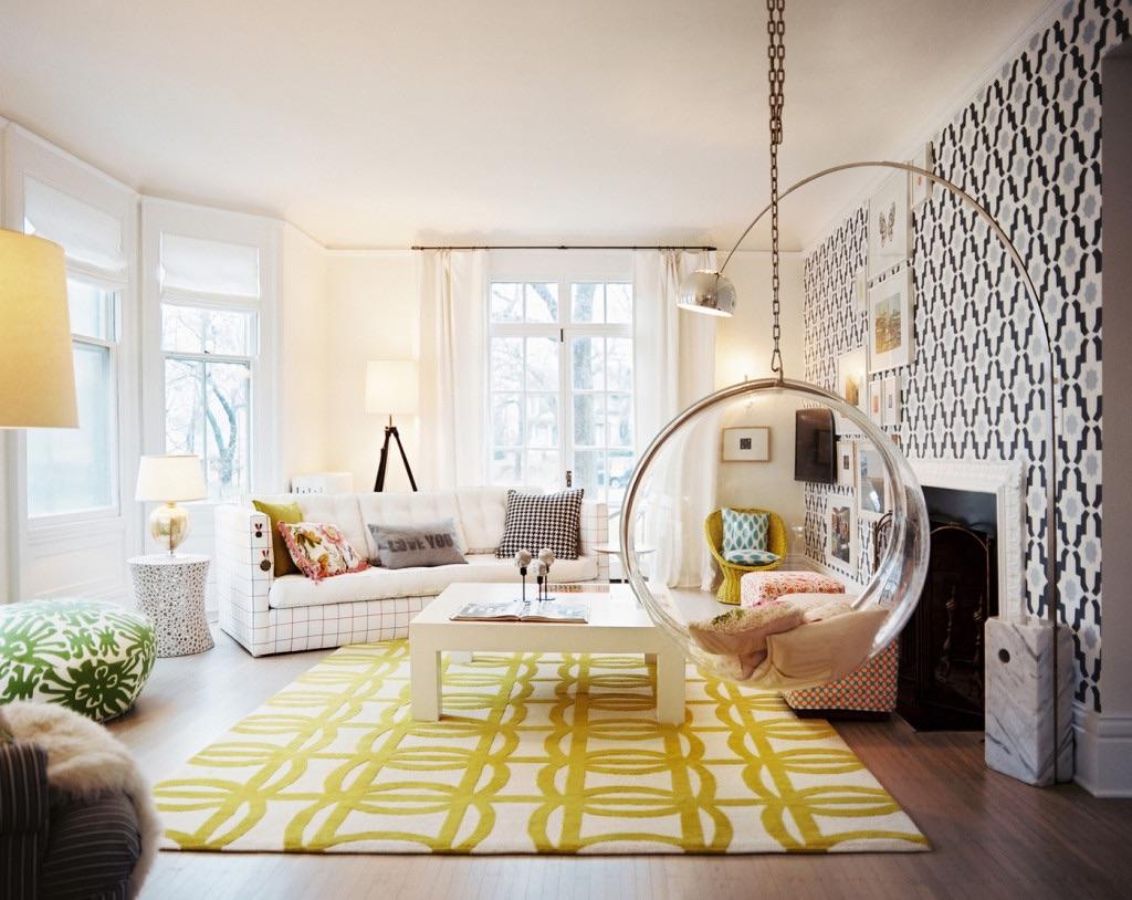 Yellow Bright Interior Design for 2014 Trends
