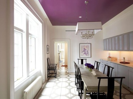 Kitchen Ceiling Color Ideas