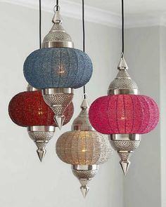 Moroccan Lamps for Diwali