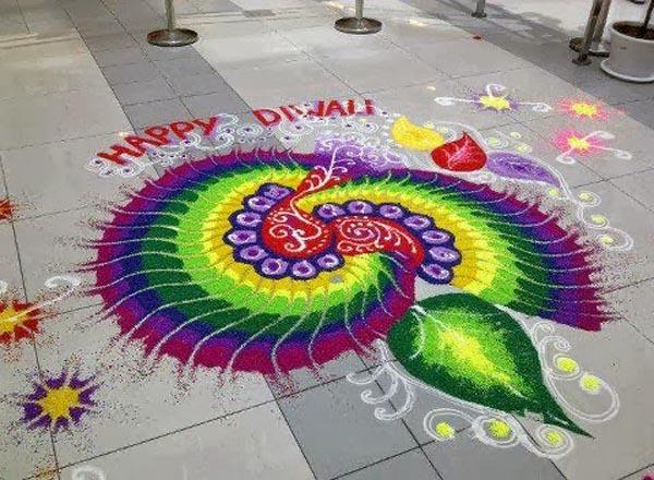 Rangoli Design Diwali