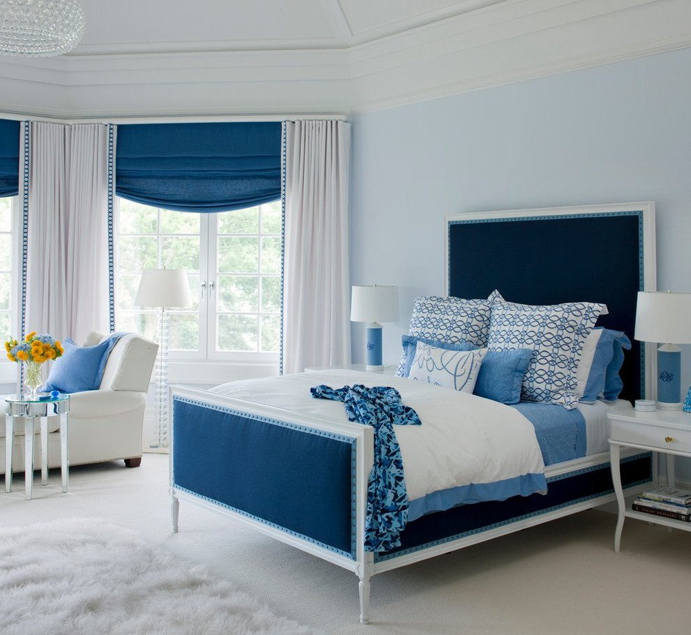 Your bedroom air conditioning can make or break your decor for Blue bedroom colors