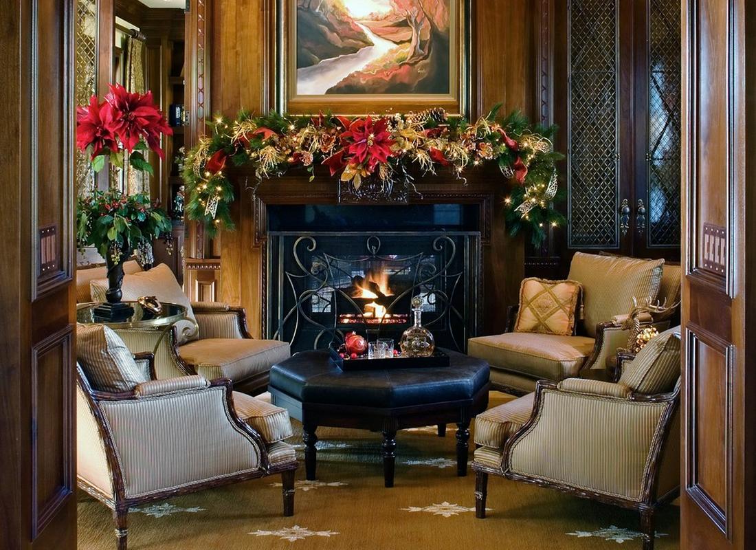 Christmas Mantel Decor Ideas My Decorative