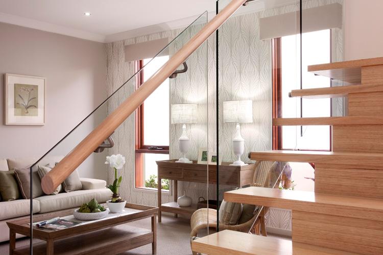 Modern Stairs Glass Railings