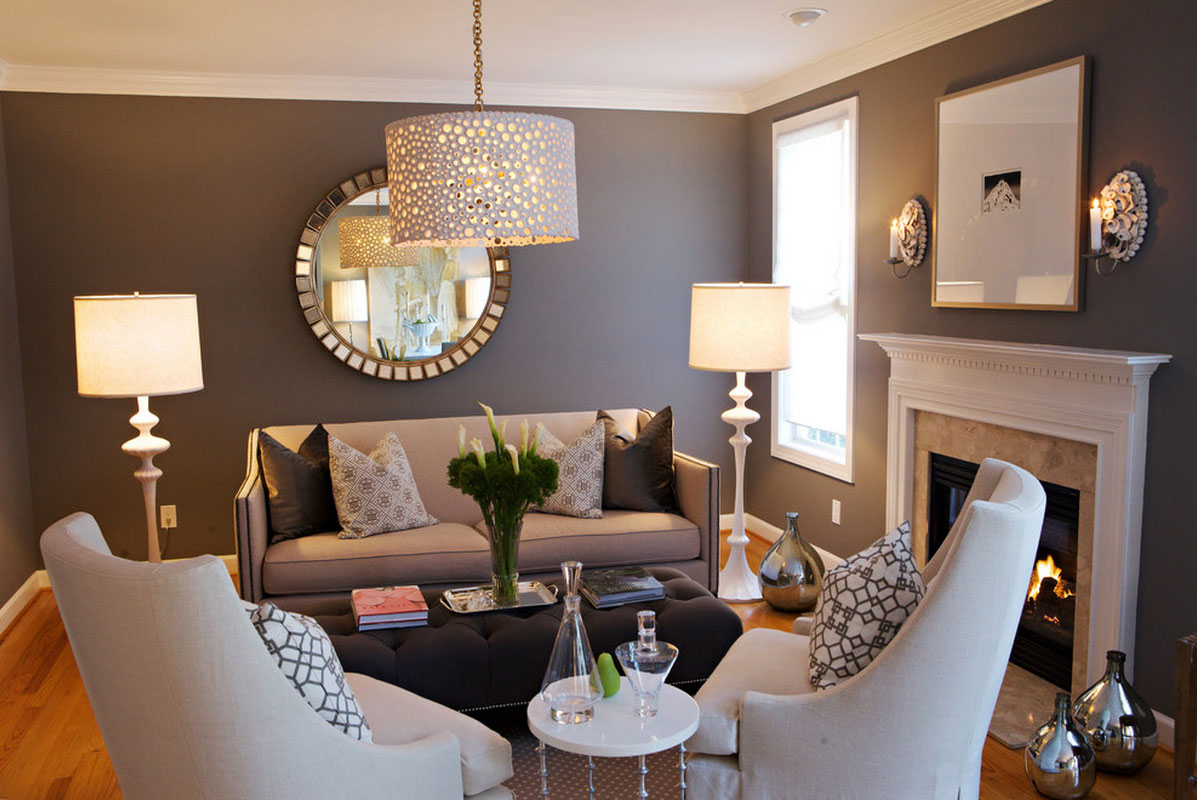 Use Mirrors To Cover For Small Space