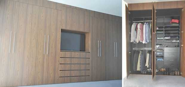 Wall Wardrobe Designs