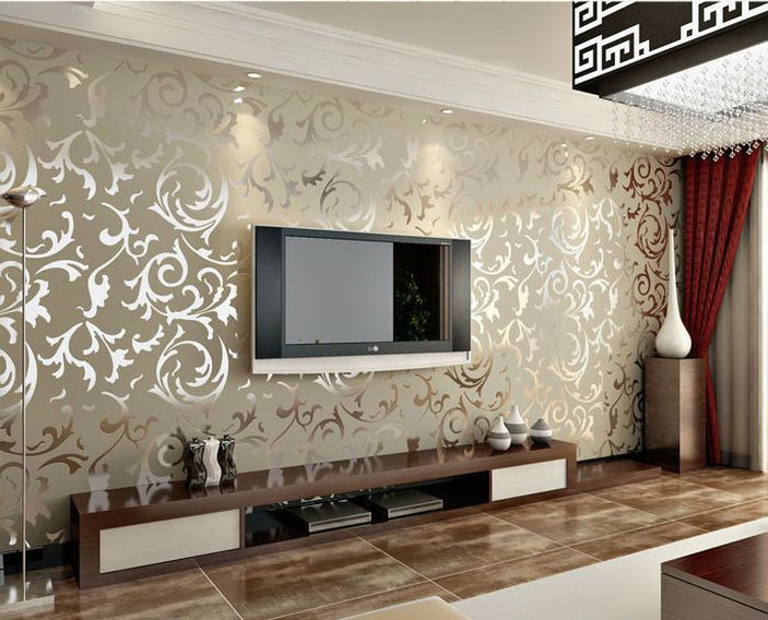 Easy ways to d cor your wall my decorative for Home wallpaper chennai