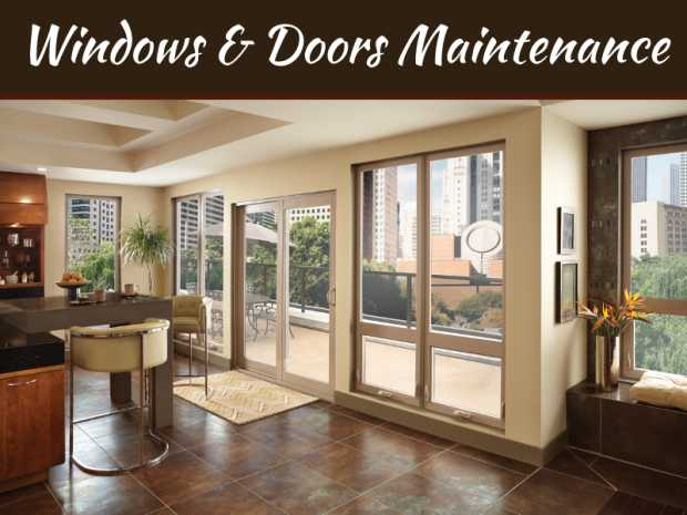 The Essentials of Windows and Doors Maintenance