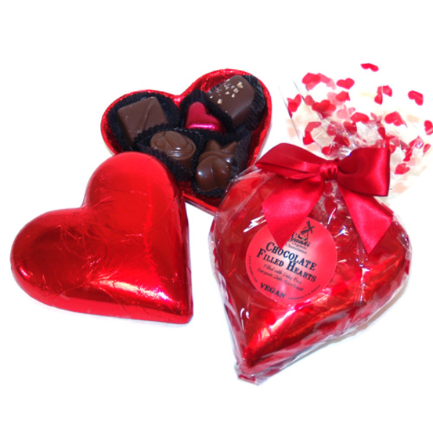 Love-Filled Chocolate Candies
