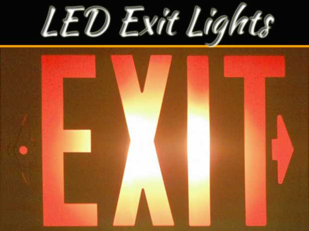 How Are Led Exit Lights Helpful During Critical Situations?