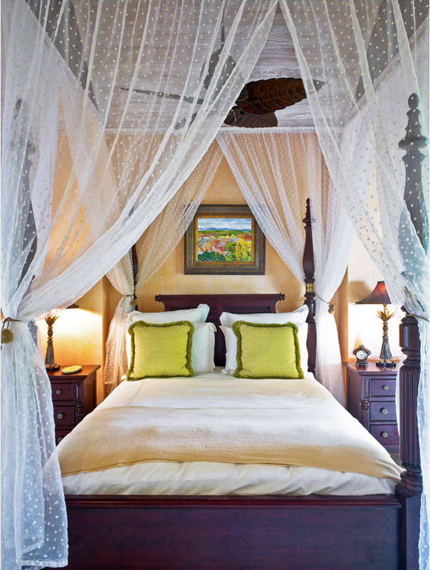 The Luxury of A Canopy Bed