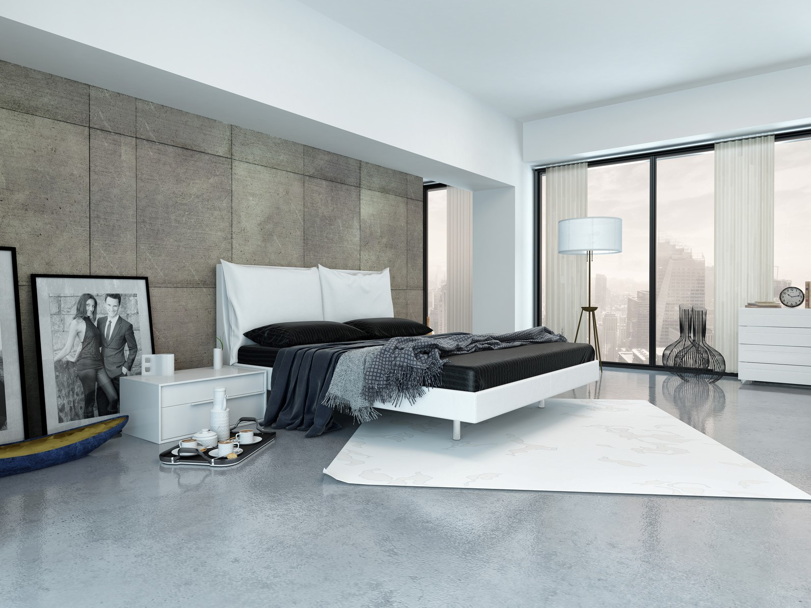 Light Blue Master Bedroom Protect Your House In Style With Wall Cladding My Decorative