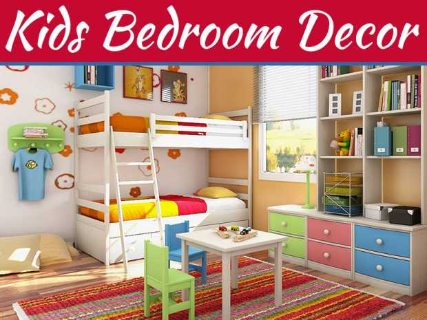 5 Simple And Easy Kids Bedroom Decorating Tips