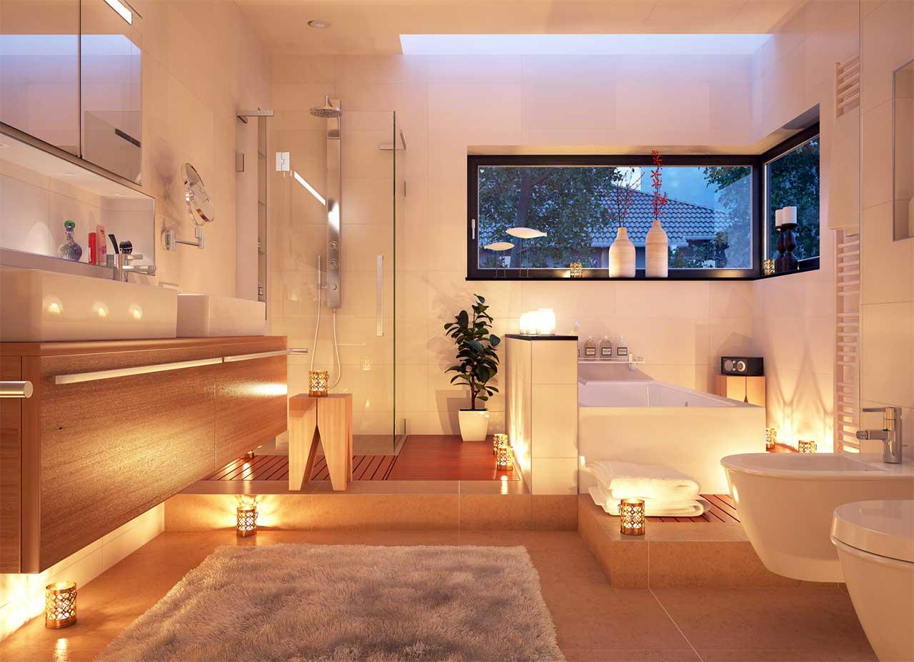 candle light bathroom - Bathroom Renovators
