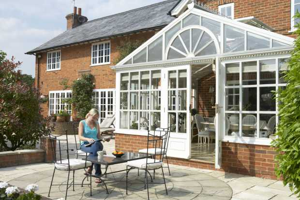 Trendy Home Conservatory Designs