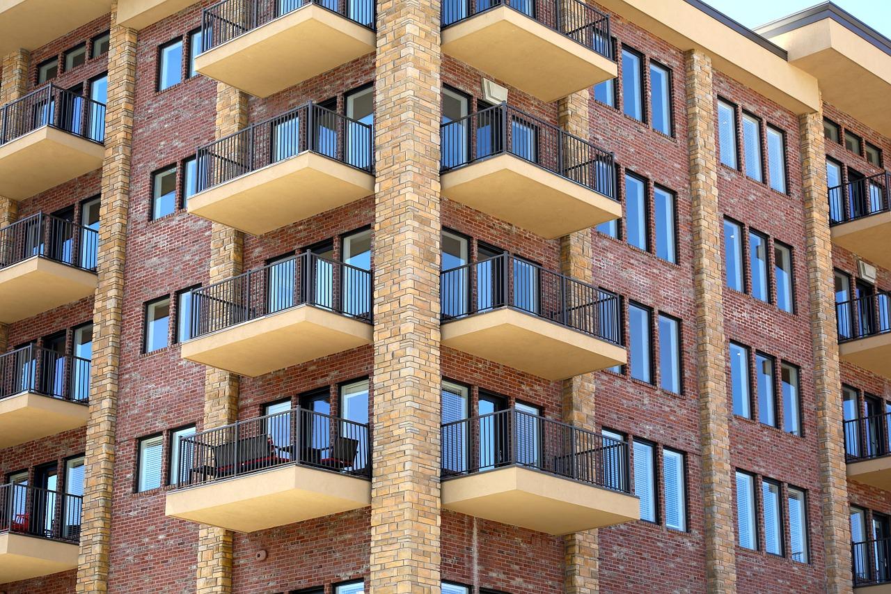 Huge Apartment Building