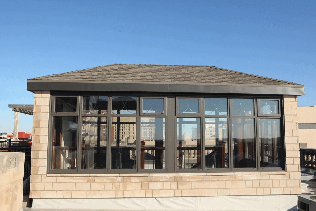 Rooftop Lancaster Conservatories Atrium Grand Manse