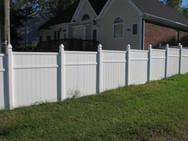 Vinyl Fence in California
