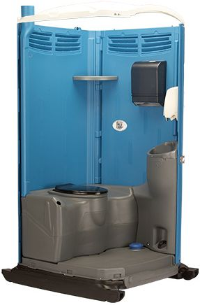 VIP Portable Toilet Interior