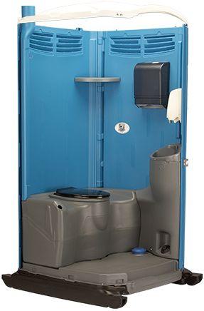 VIP Portable Toilet Interior