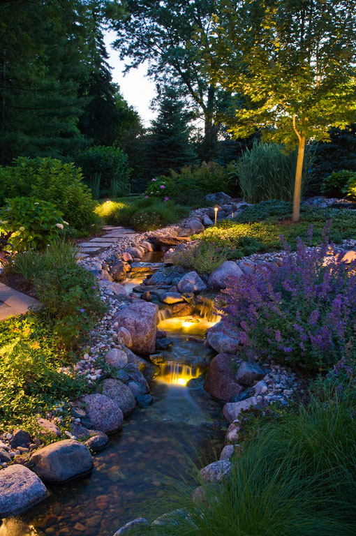 Ambient Garden Lighting