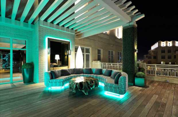 Mood Lighting for Home Garden