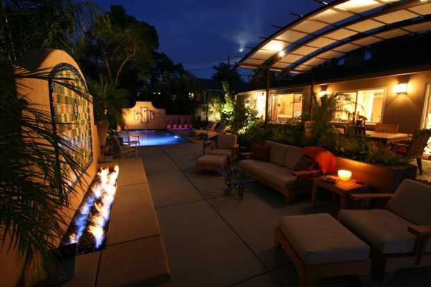 Mood lighting Garden