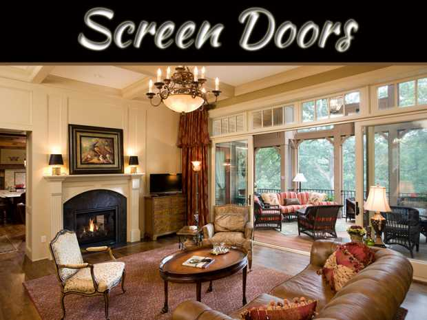 Add Importance to Your Premises with Fiberglass Screen Doors