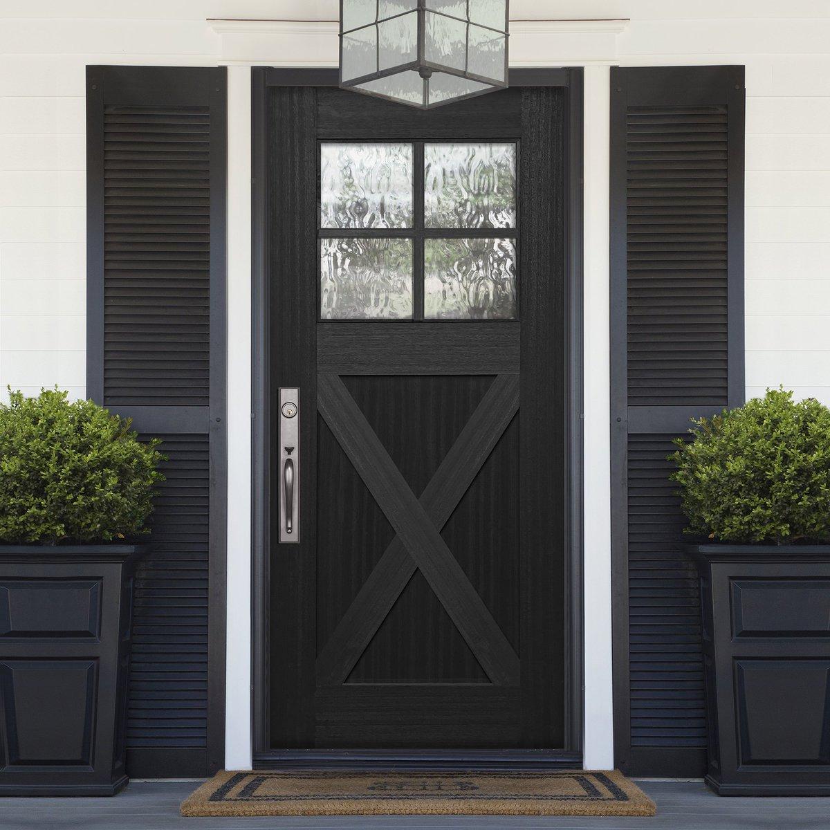 Elegant Fiberglass Doors