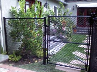 Temporary Chain-Link Gates
