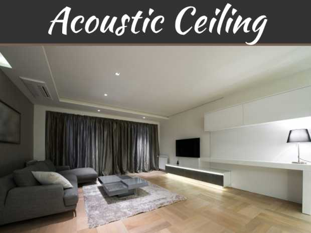 How Double Benefit Helps With Acoustic Ceilings?