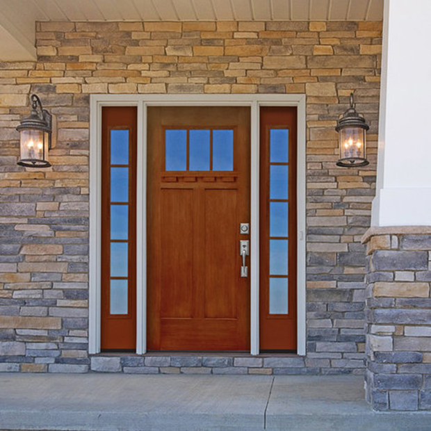 Versatile Fiberglass Screen Door