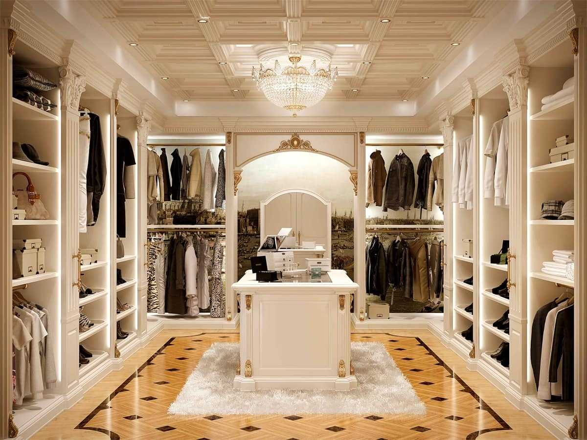 Walk In Closet Classic Decoracion