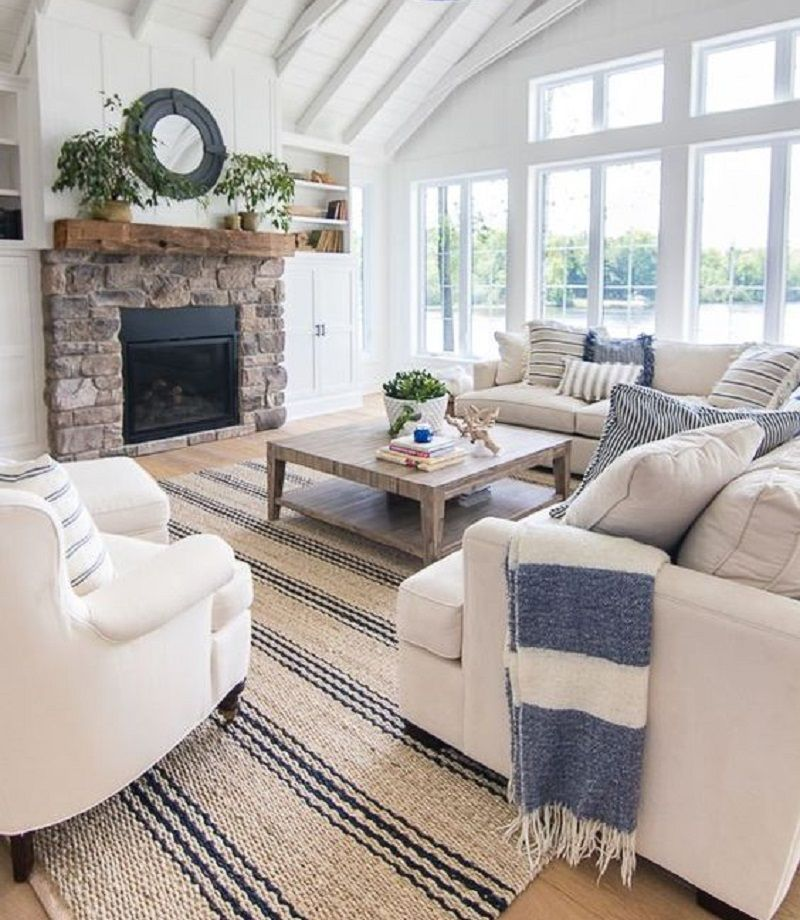 10 rooms inspired by the beach culture my decorative for Beach cabin decor