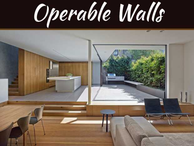 Make Your House Style Statement Using Operable Walls
