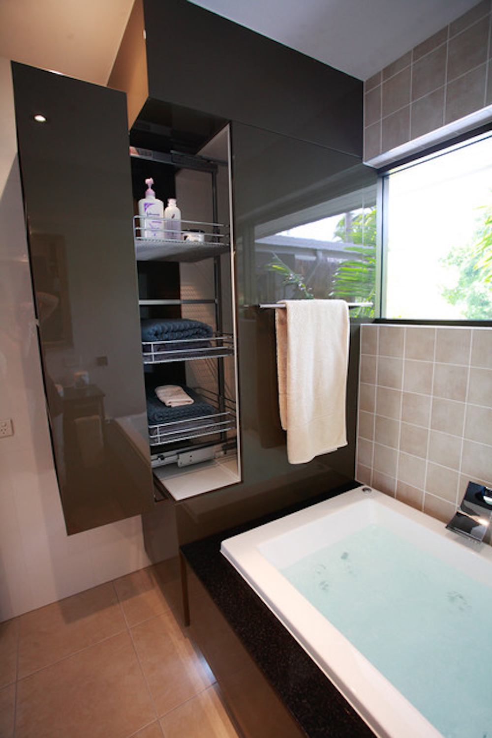 Extra Storage Space in Bathroom