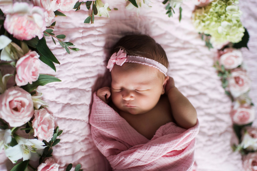 New baby Flowers Decoration