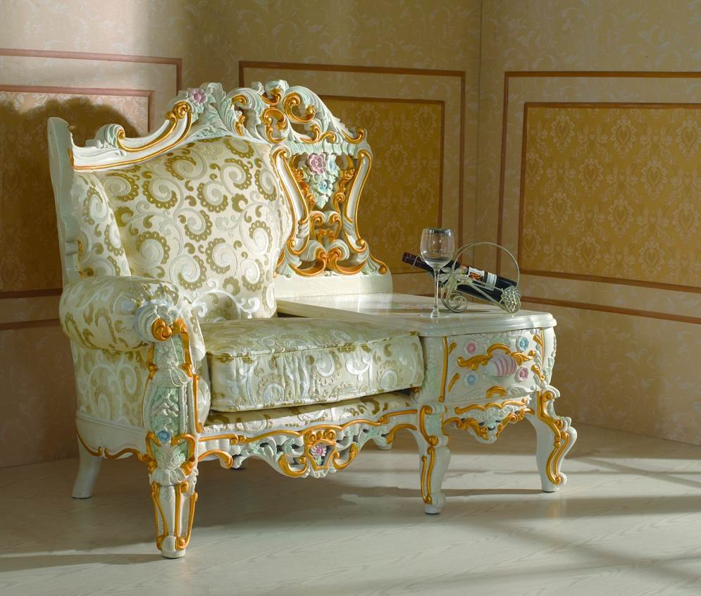 My decorative hand carved furniture
