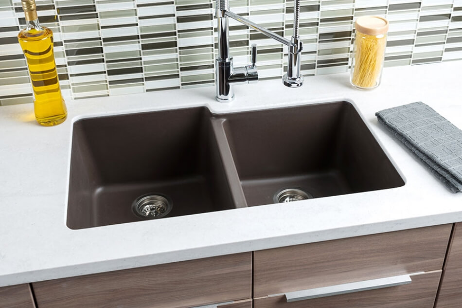 Farmhouse sinks are a design trend toward utility and old for High quality kitchen sinks