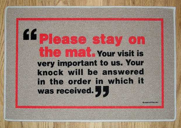 Door Mats With Funky Messages