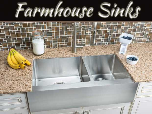 Farmhouse Sinks Are A Design Trend Toward Utility And Old World Beauty