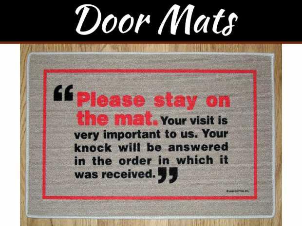 Rainbow Color Door Mats – Latest House Entrance Decorating Ideas