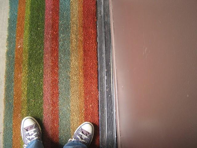 Rainbow Color Door Mats