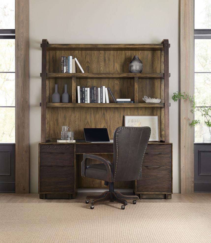 Desk With A Shelf