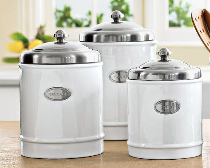 Get Classic Stainless Steel Canisters
