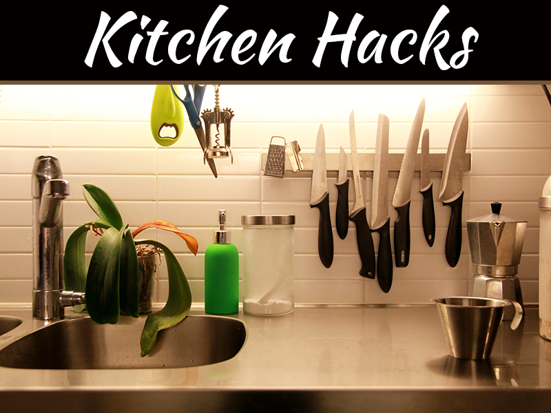 4 Space-Saving Hacks for Your Kitchen