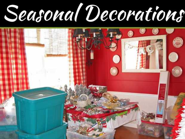 How To Organize Your Seasonal Decorations
