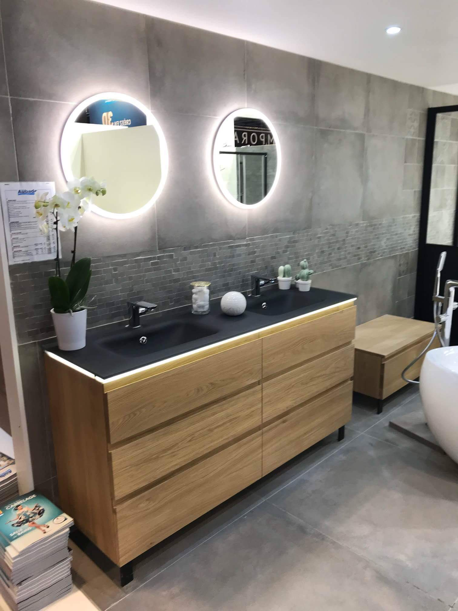 Storage in Modern Bathroom