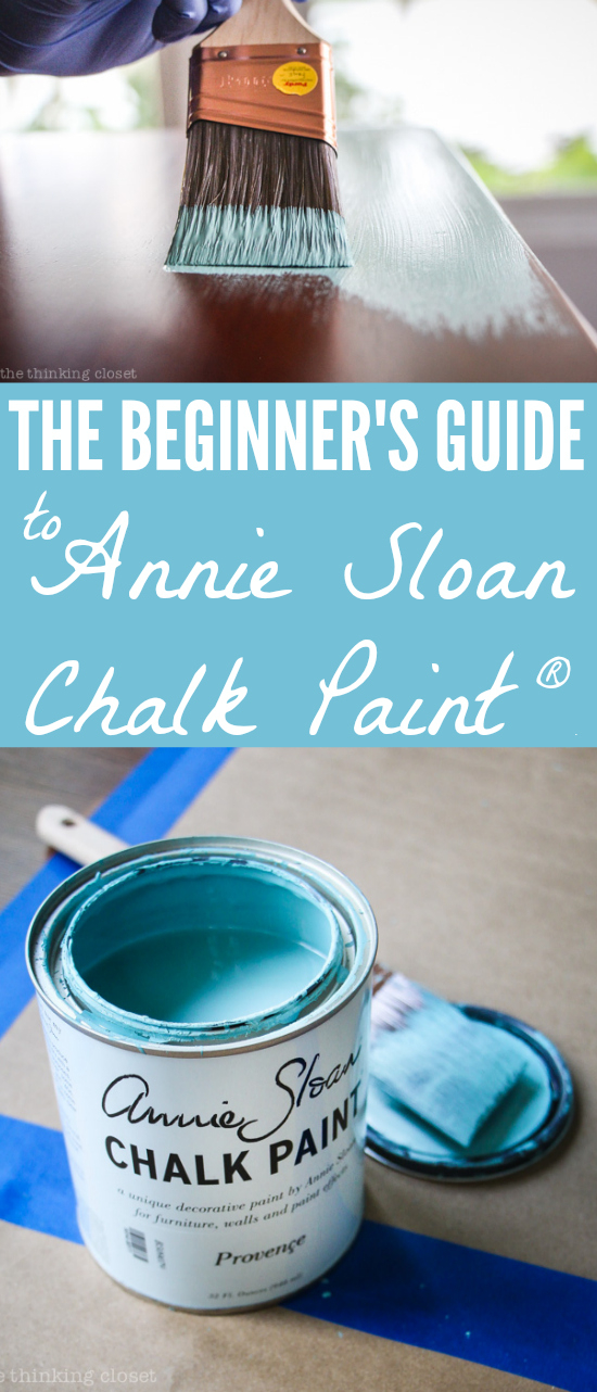 Annie Sloan Chalk Paint Infographic