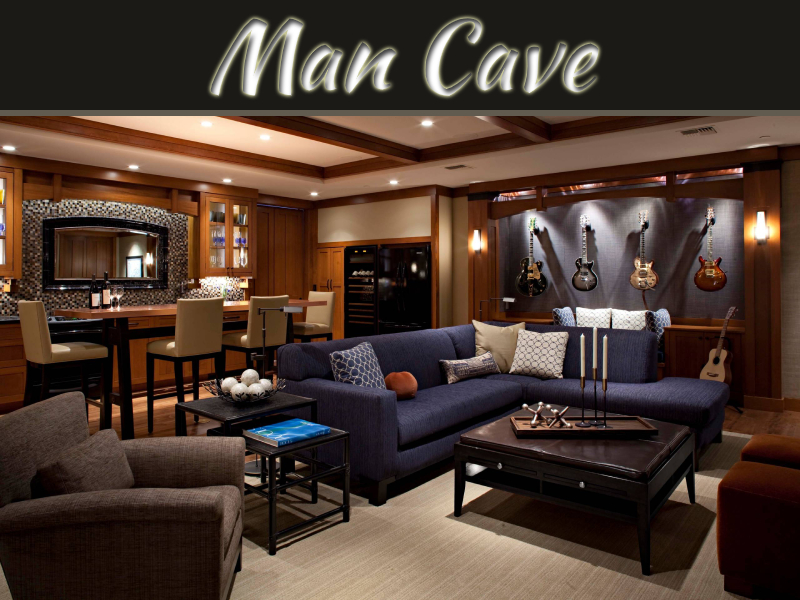 Creating A Space For Him: A Wife's Guide To Designing A Man Cave